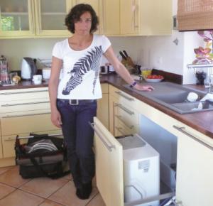 Küchengeräte (Teekocher etc.) müssen nicht mehr entkalkt werden.